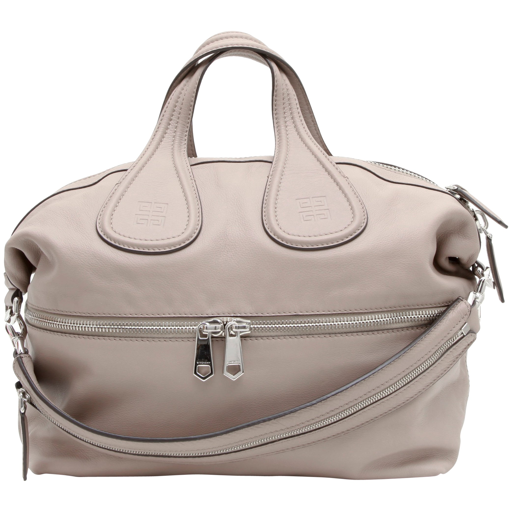 b62d16f949 GIVENCHY Nightingale Large Model Handbag in Pink Beige Leather at 1stdibs