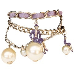 """2004 Chanel """"Coco sur le monde"""" bracelet"""