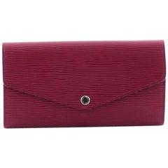 Louis Vuitton Sarah Wallet NM Epi Leather