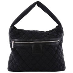 Chanel Coco Cocoon Hobo Quilted Nylon Medium