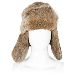 Rabbit Fur Trap Hat