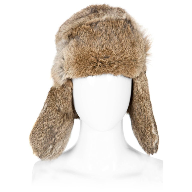 Rabbit Fur Trap Hat