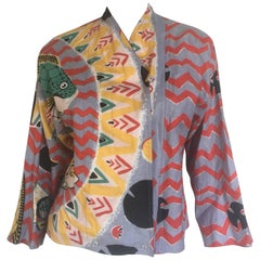 Michaele vollbracht printed shirt