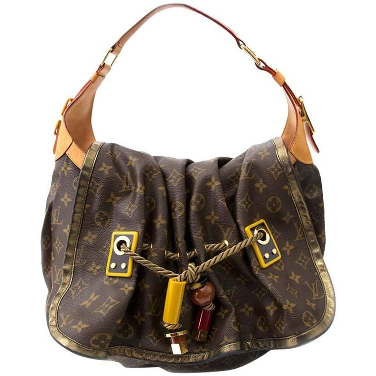 Louis Vuitton Limited Edition Monogram Epices Kalahari GM Bag