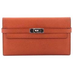 Hermes Kelly Wallet Epsom Longg