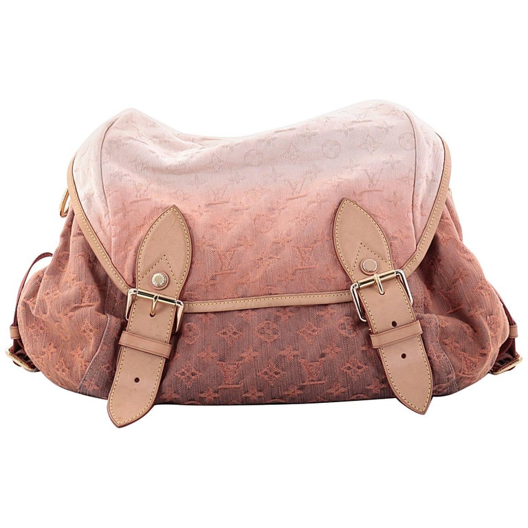Louis Vuitton Sunrise Shoulder Bag Denim at 1stdibs