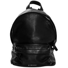 Givenchy Black Calfskin Leather Mini Backpack Bag