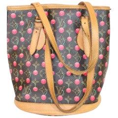 Murakami Cerises Cherry Bucket Bag