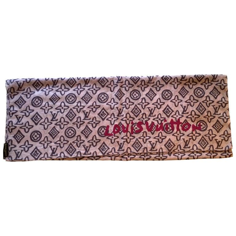 Louis Vuitton Shawl - Monogram - 100% Cotton