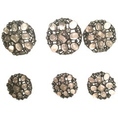 Chanel Gripoux Buttons - Matching Set of 6 - Inlay