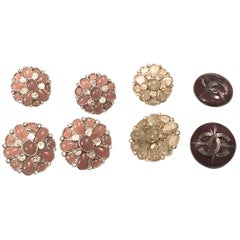 Chanel Buttons Gripoux - Set of 8 Assorted Buttons