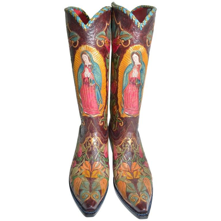 Comme des Garcons Homme Plus black leather 'Jugo Boots ...