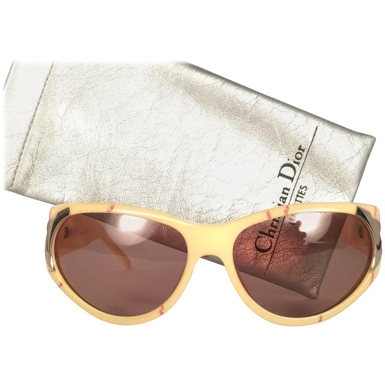 New Vintage Christian Dior 2346 Optyl 1980's Sunglasses Germany