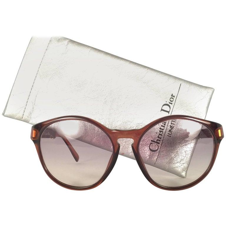 New Vintage Christian Dior 2210 Optyl 1980's Sunglasses Germany