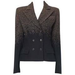 Alexander McQueen black jacket, circa 1997