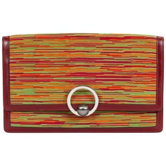 Hermes Vibrato Vintage Rot Handtasche