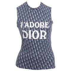 John Galliano for Christian Dior Trotter Logo T-Shirt