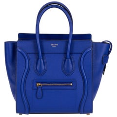 New Celine Indigo Micro Luggage Bag