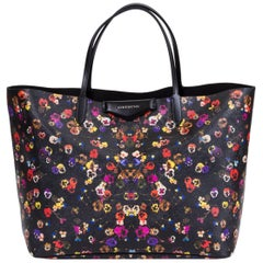New Givenchy Large Flower Antigona Shopper Tote Bag