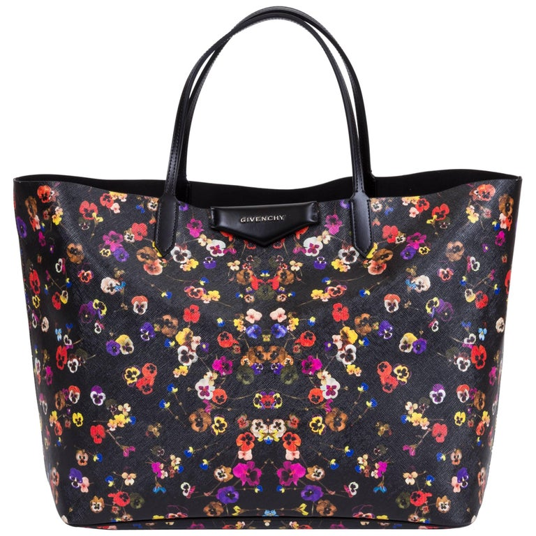 New Givenchy Large Flower Antigona Per Tote Bag For