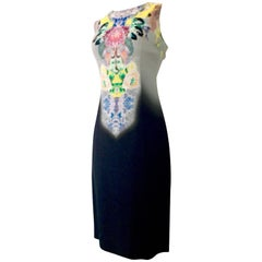 Contemporary & New Etro Sheath Print Fade Dress Size 6