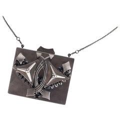 Roberto Cavalli Womens Silver Minaudière Shoulder Bag Crystal