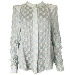 CHLOE crepe silk blouse