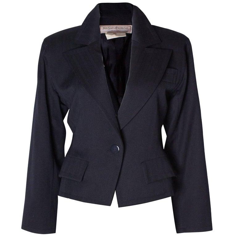 68c56791 Vintage Yves Saint Laurent Jacket
