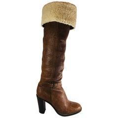 MiuMiu Knee High Boots