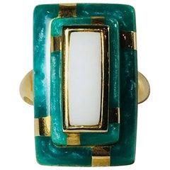 Hamilton Crawford Agate Ring
