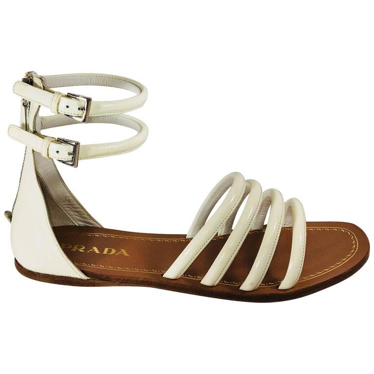 Prada Open Toe Sandal