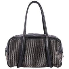 Alaia Duffle Bag Studded Leather Medium