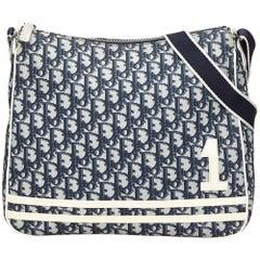 Dior Navy Trotter Shoulder Bag