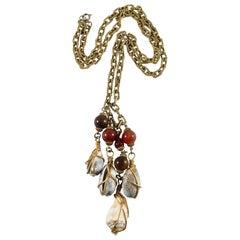 1970s Cadoro Shell Pendant Necklace