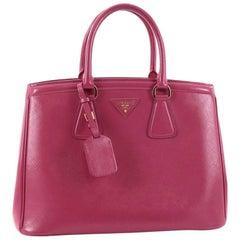 Prada Parabole Handbag Vernice Saffiano Leather
