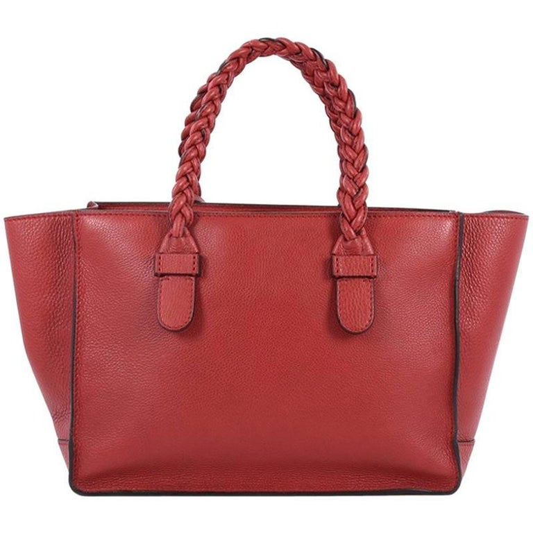 Valentino To Be Cool Tote Leather Small