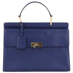 Balenciaga Le Dix Zip Cartable Top Handle Bag Leather Medium