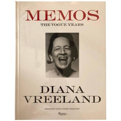 Memos The Vogue Years by Diana Vreeland Book New Sealed