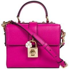 Dolce&Gabbana Women's Hot Pink Dolce Soft Box Tote Shoulder Bag