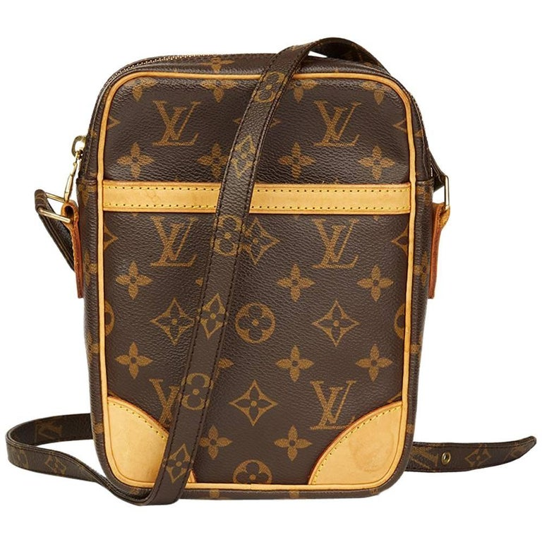 Louis Vuitton Brown Monogram Coated Canvas Danube