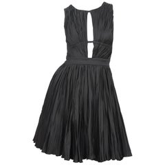 Roberto Cavalli Black Cocktail Dress, Size 40