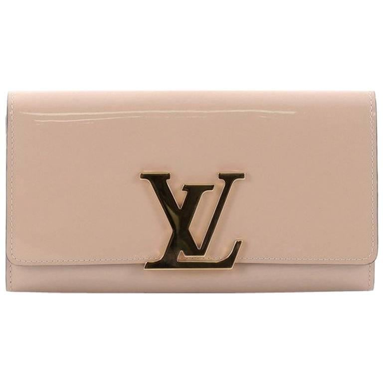 66e9096f6341 Louis Vuitton Nude Patent Louise Wallet at 1stdibs
