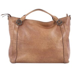 Gucci Miss GG Convertible Tote Leather Medium