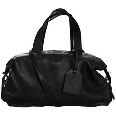 Reed Krakoff Black Leather Mini Atlas Satchel Bag