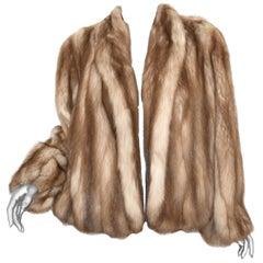 Stone Marten Fur Jacket