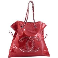 Chanel Bon Bon Tote Strass Embellished Patent Large