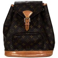 Louis Vuitton Monogram Montsouris MM Backpack Bag