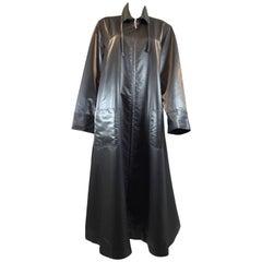 Chanel Sharkskin Lightweight Overcoat, 1999