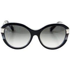 Louis Vuitton Sunglasses Black Petite Soupcon Cat Eye