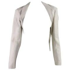 Yohji Yamamoto Cutaway Linen Jacket